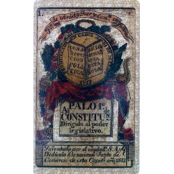 Astronomical playing cards. British Isles