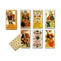 Set of Adami playing cards from Florence.