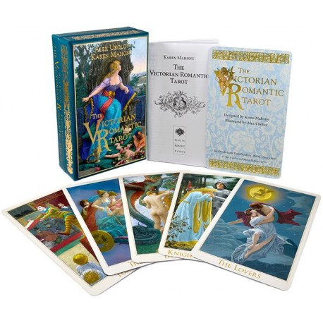The Victorian Romantic Tarot third edition (metallic overlay).