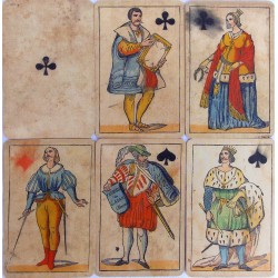 Set of Adami playing cards