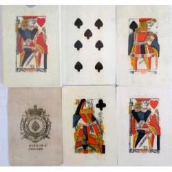 Deck of Piquet cards British Isles