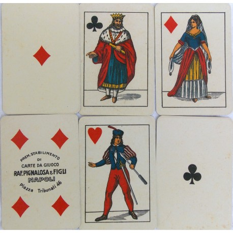 Florentine playing cards