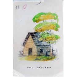 Uncle Tom`s cabin playing cards