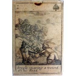 Monmouth Rebellion playing cards