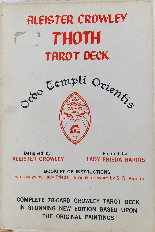 Thoth Tarot- edition 1983 - Tarot Bulgaria ltd