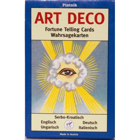 Art Deco Fortune-telling cards