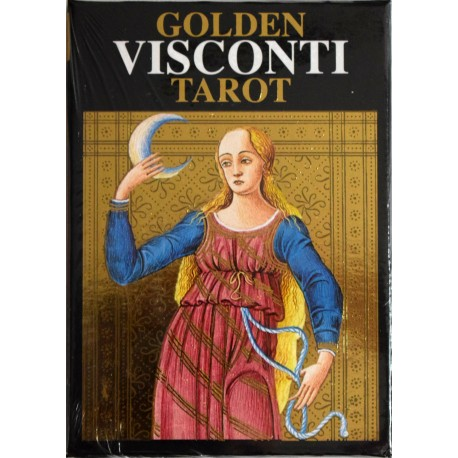 Golden Visconti Tarot (Grand Trumps)