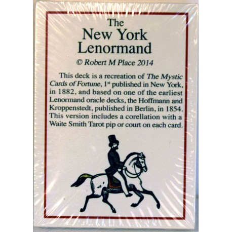 The New York Lenormand - with the Tarot equivalent.