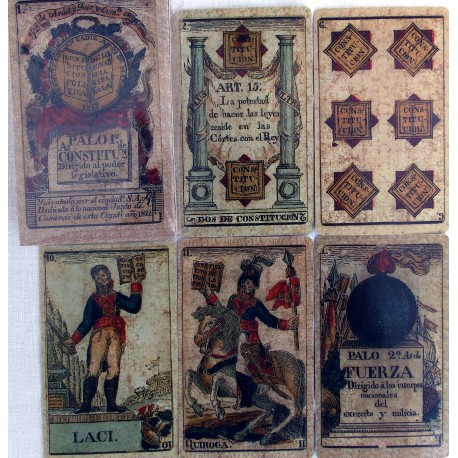 Constitution of Cadiz deck of cards.