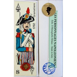 Card Game with Napoleonic Figures