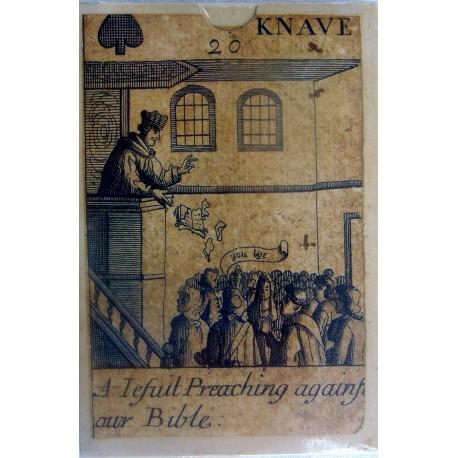 Revolution deck of cards. British Isles