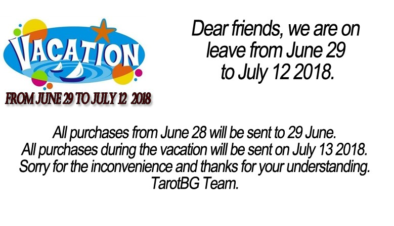 All purchases from June 28 will be sent on 29 June. All purchases during the vacation will be sent on July 13 2018.