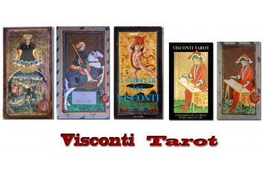 Visconti tarot decks.